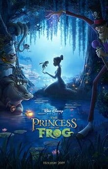 Disney The Princess and the Frog [RU5Y4Q]