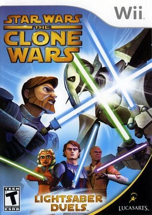 Star Wars The Clone Wars- Lightsaber Duels [WBFS] [RLFE64]